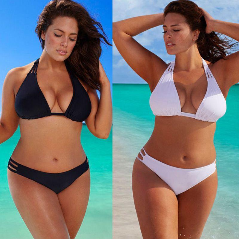 Conjunto de biquíni sexy plus size, 4xl 3xl, feminino, cintura baixa, push up, maiô, moda praia, tamanho grande traje de terno