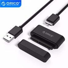 ORICO Micro B/Type C vers SATA adaptateur pour disque dur USB3.0 SSD SATA adaptateur convertisseur de câble SuperSpeed USB 3.0 vers SATA 22 broches
