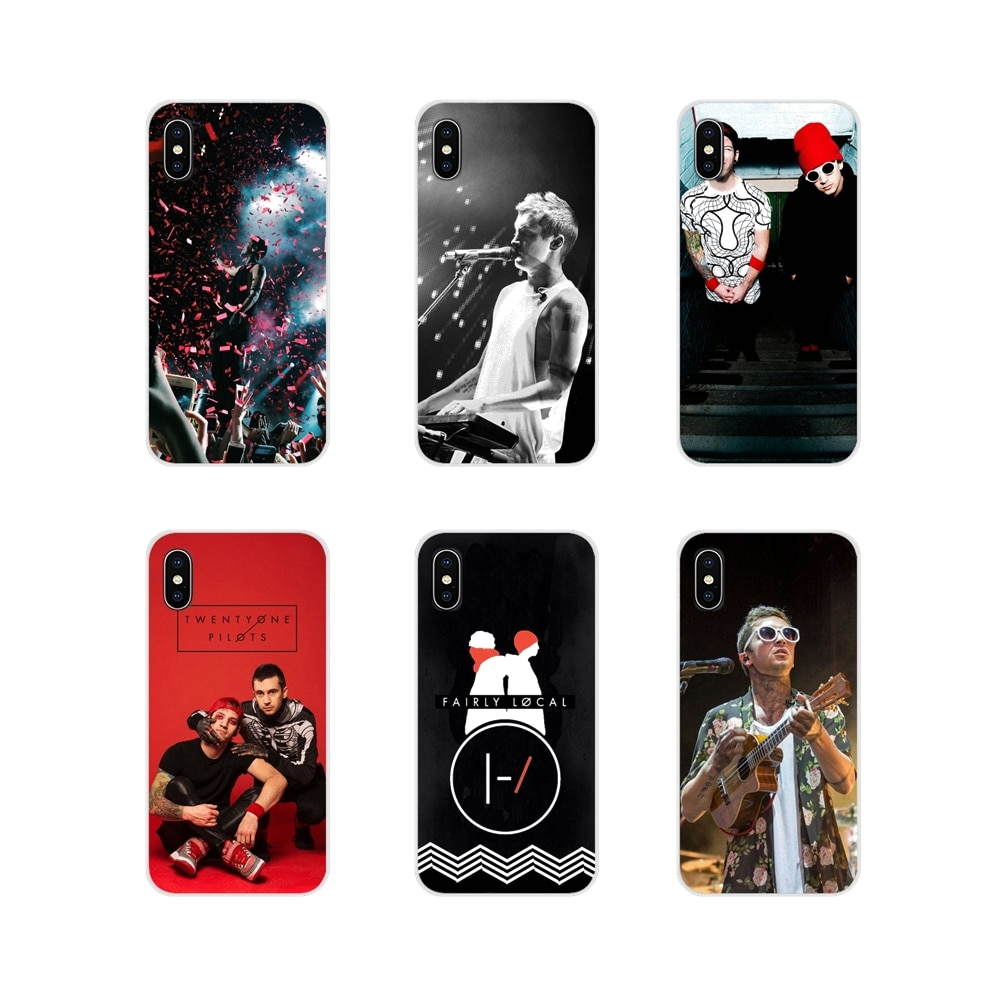Для Apple IPhone X XR XS 11Pro MAX 4S 5s 5C SE 6S 7 8 Plus ipod touch 5 6 Twenty One Pilots 21 Тайлер Джозеф аксессуары сумка чехол