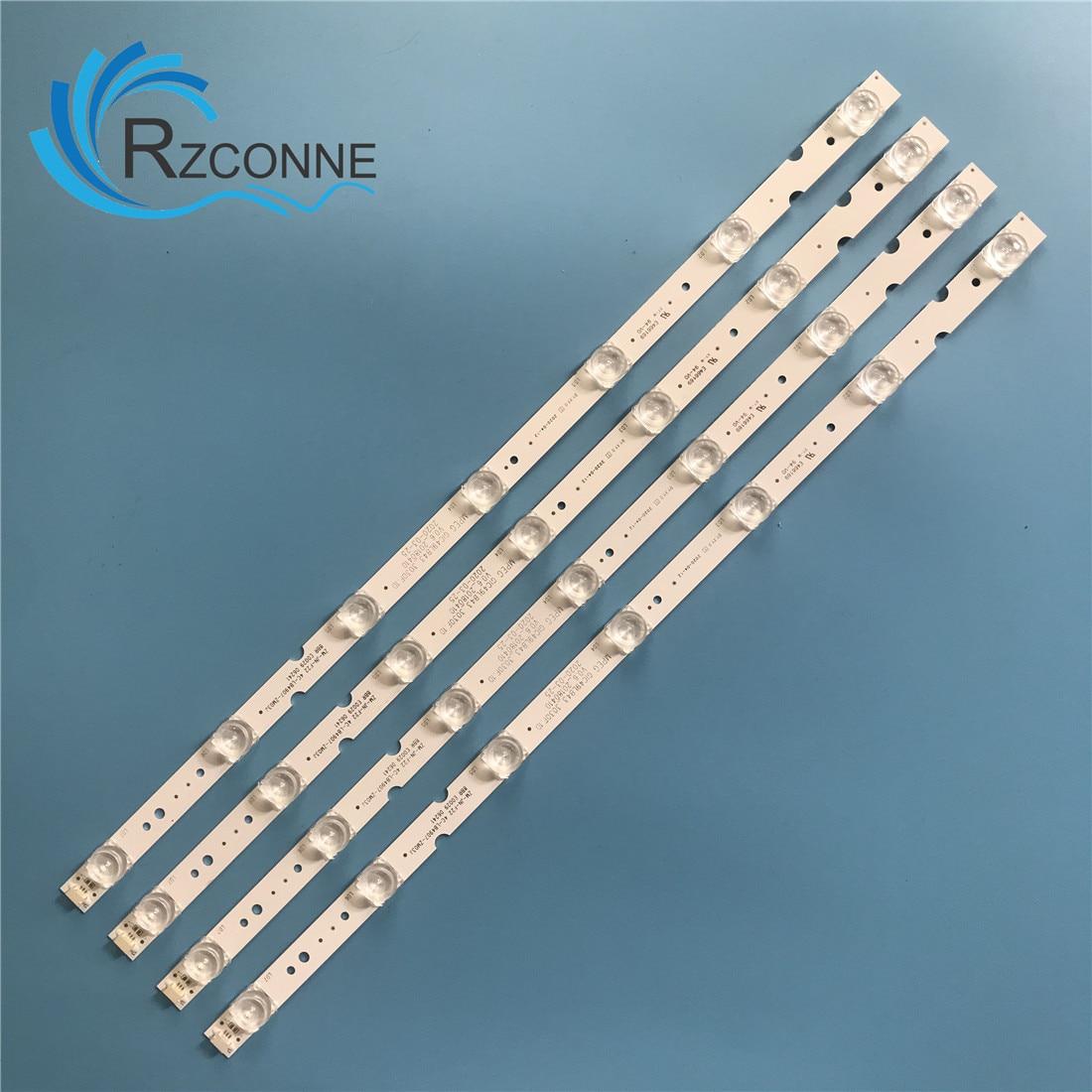 LED شريط إضاءة خلفي 7 مصباح ل TCL 49 'TV 49HR330M07A0 V3 4C-LB4907-HR01J 49A260 49A261 49S2 JL.D49071330-365AS-M_V03