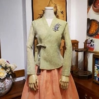 2021 korean ancient costume women hanbok dress stage performance festival outfit vintage traditional princess asian dance dress