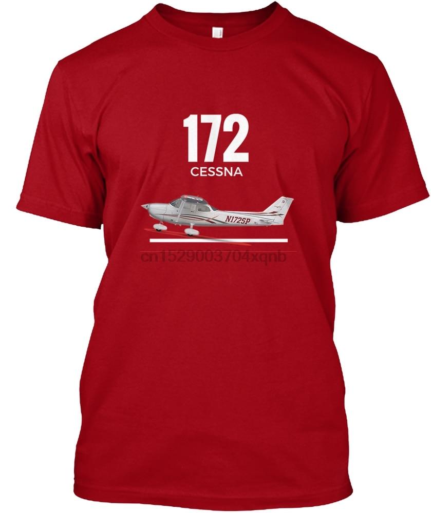 ¡Camiseta para hombre, camiseta nueva y emocionante de Cessna 172! Mujeres camiseta