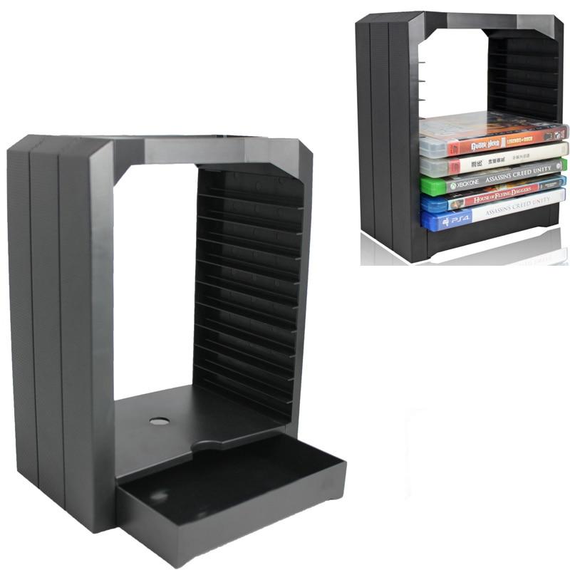 Soporte Universal para juegos Ps4 Ps 4, soporte para juegos de 10 Cd para Ps4 Playstation 4 Slim Pro One 360 Accesorios