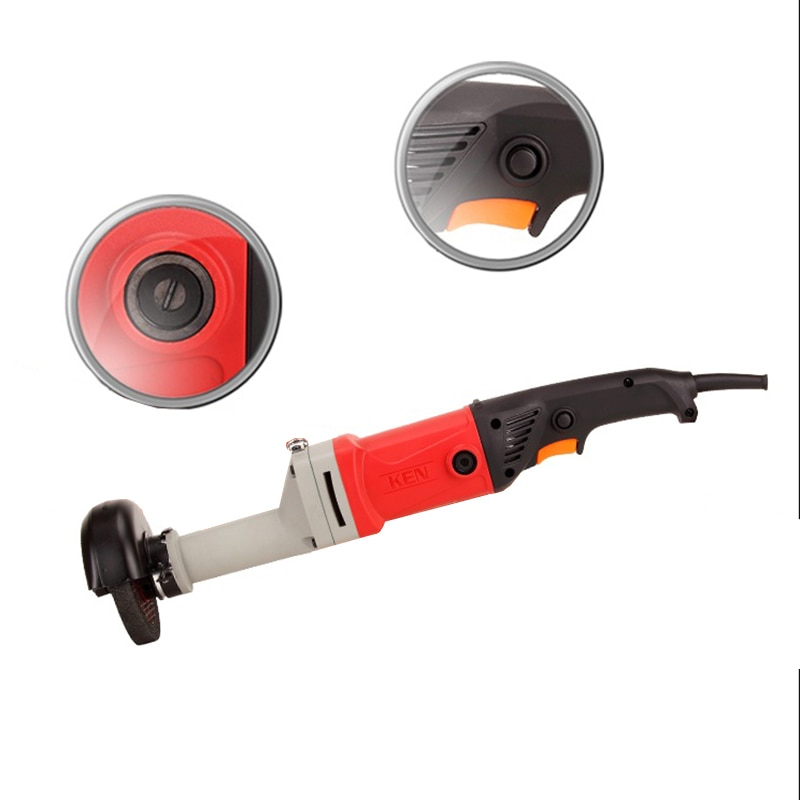 Electric  125mm 950w   Long Handle  Angle Grinder For Small  Spaces enlarge