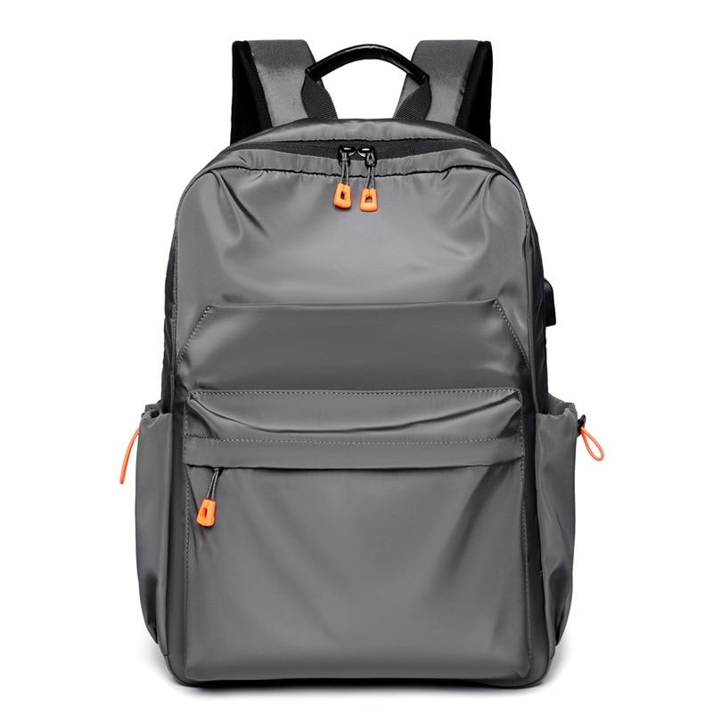 2021 мужские деловые рюкзаки из ткани Оксфорд, рюкзаки с USB-зарядкой, дорожные сумки, мужские школьные сумки, многофункциональная вместительн...