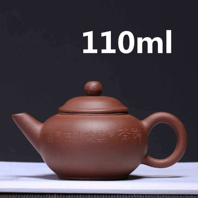 Tetera de arcilla de Yixing China 2020, infusor Zisha, juego de té Kung Fu, 110ml, recién llegado, famosa tetera hecha a mano de alta calidad con caja de regalo