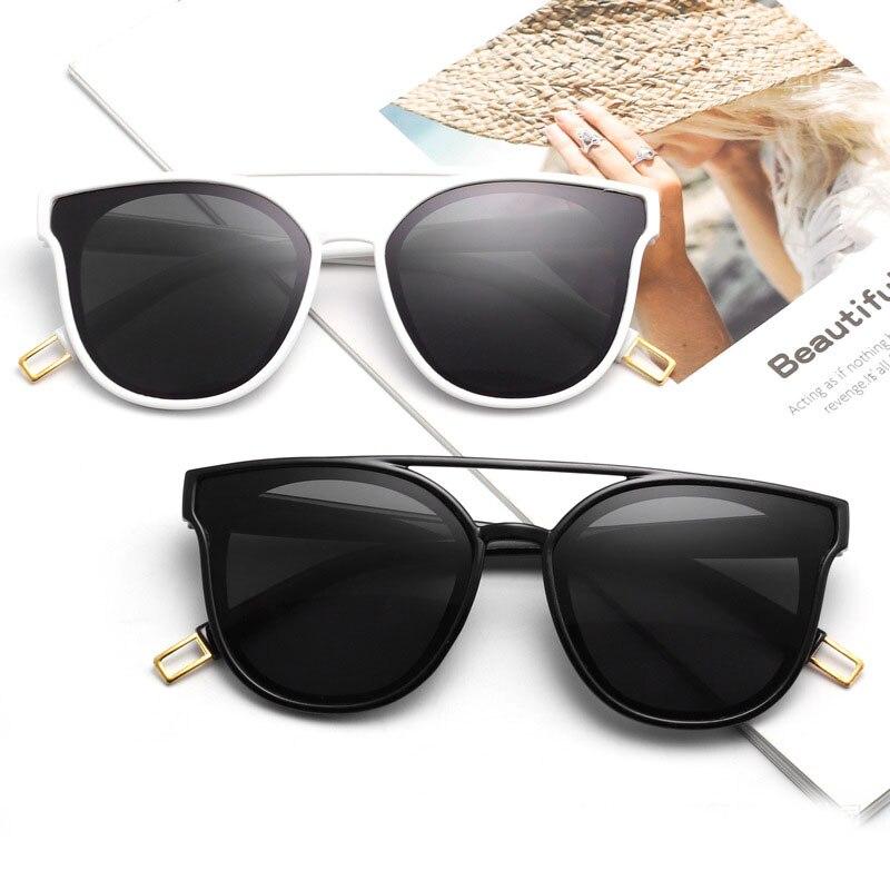 Internet Celebrity Style Luxury Brand Designer Double Beam Sunglasses Women Sun Glasses Coated Shade