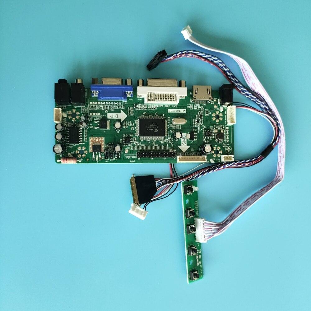 كيت ل LP101WH1-TLB5 VGA HDMI 1366X768 DVI الصوت LCD LED DIY 2019 سائق تحكم مجلس 10.1