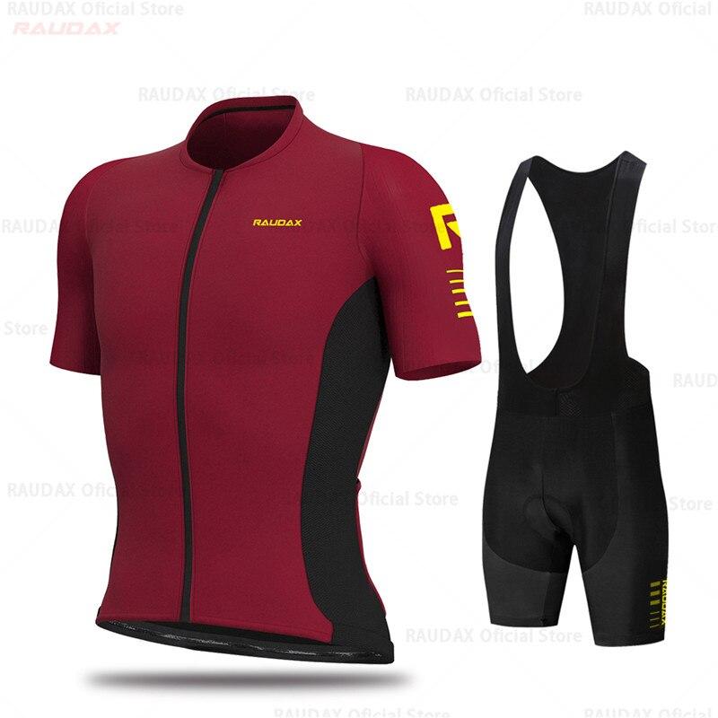 Conjunto de Jersey de Ciclismo para hombre, uniforme transpirable, Ropa de bicicleta,...
