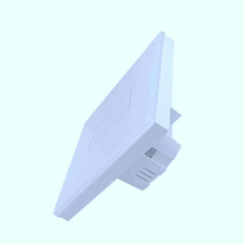 GT-501NL واي فاي مفتاح إضاءة ذكي 1 عصابة التحكم عن بعد اللاسلكية الكهربائية مقاطعة الصحافة لوحة الاتحاد الأوروبي التوصيل