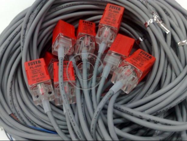 Индуктивный датчик приближения FOTEK, 10 шт., PL-05N NPN NO Sn-5mm, 10-30VDC, 3 провода