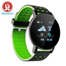 SHAOLIN Bluetooth Smart Watch Blood Pressure Smartwatch Watches Smart Band Sport Tracker Men Smartba