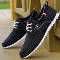 fashion shoes walking men shoes men casual shoes 2020 spring hot sale sweat absorbant breathable casual canvas men driving shoes