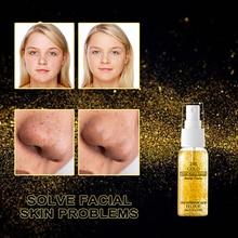 NEW 24K Gold Serum Spray Oil Control Moisturizing Anti Wrinkle Lifting Firming Anti Aging Skin Care