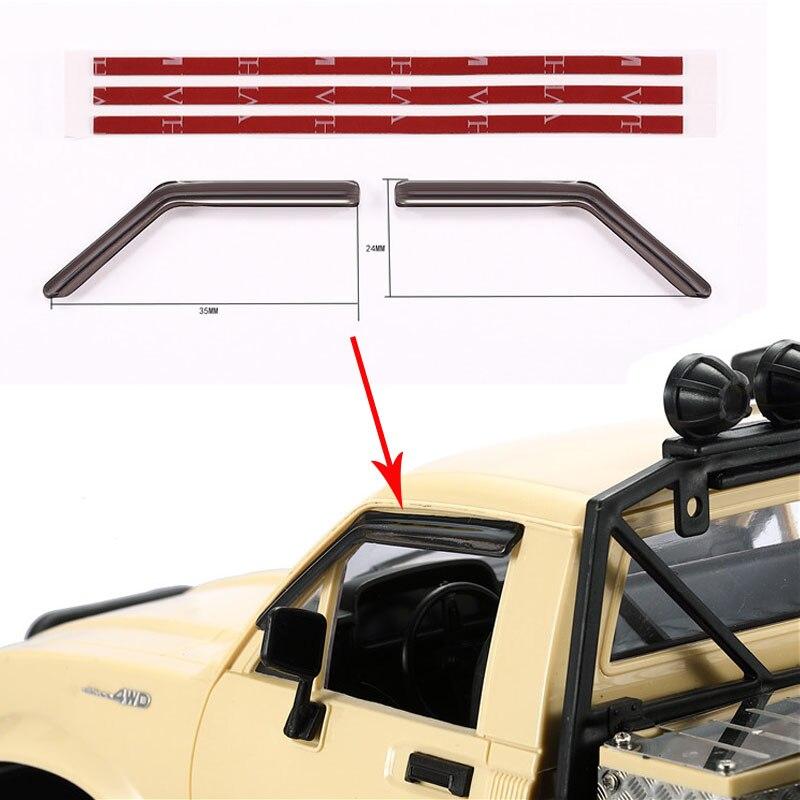DJ Simulation Car Rain Cover Window Protection Water Curtain For Naughty Dragon WPL Semi-Kapika RC C