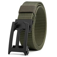 flying art 3 4cm automatic buckle military nylon belt quick release metal tactical charm mens luxury belt