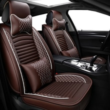 Housses en cuir synthétique pour siège de voiture   Siège universel en polyuréthane pour HUMMER tous les modèles HUMMER H2 2008 HUMMER H3, accessoires de siège de voiture
