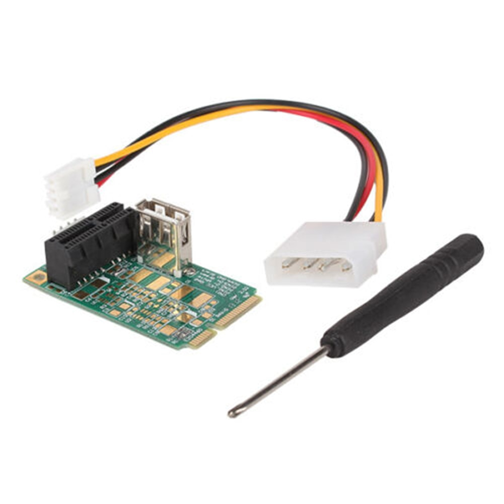 Mini PCIE To PCI Express, аксессуары, интерфейс, стабильная сеть, высокоскоростной адаптер, карта, конвертер, компьютерный тестовый инструмент, настол...