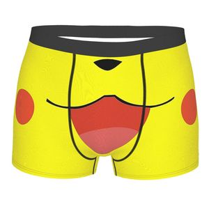 Electric Mouth Animal Crossing New Horizons Cosplay Game Underpants Breathbale Panties Male Underwear Sexy Shorts Boxer Briefs