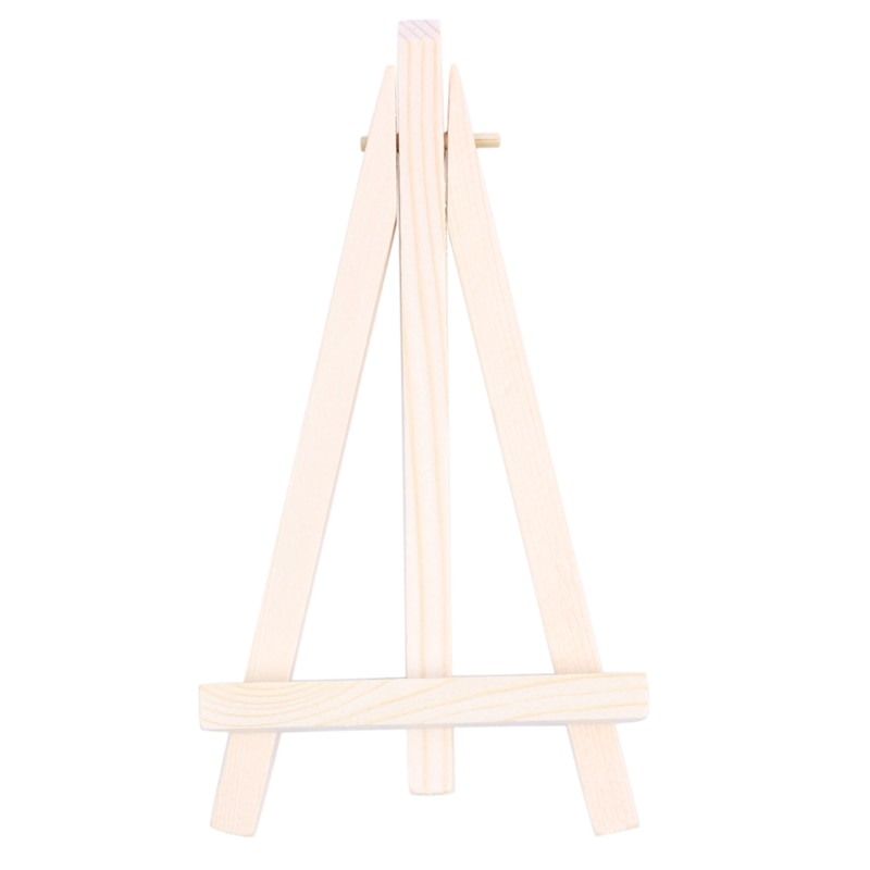 Mini Wooden Cafe Table Number Easel Wedding Place Name Card Holder StandAmount:1
