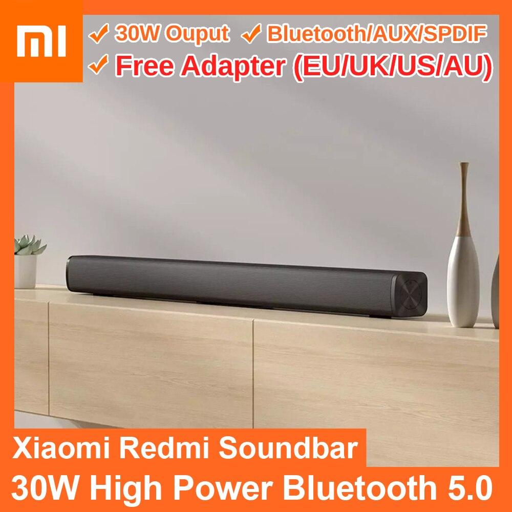 Xiaomi Redmi الصوت من التلفزيون 30W بلوتوث متوافق 5.0 رئيس جدار جبل المسرح المنزلي نظام دعم BT 5.0 SPDIF AUX Xiaomi