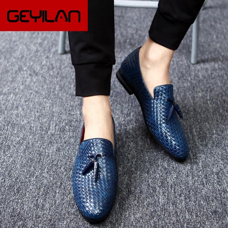 Zapatos Hombre Zapatos De Vestir Para mocasines De los Zapatos De los...