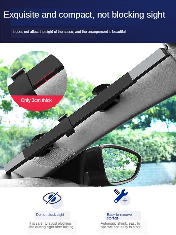 E-FOUR parasol retráctil para parabrisas para coche, Protector de visera celular inalámbrico, bloques de 99% rayos UV para mantener el vehículo fresco 2 paquetes