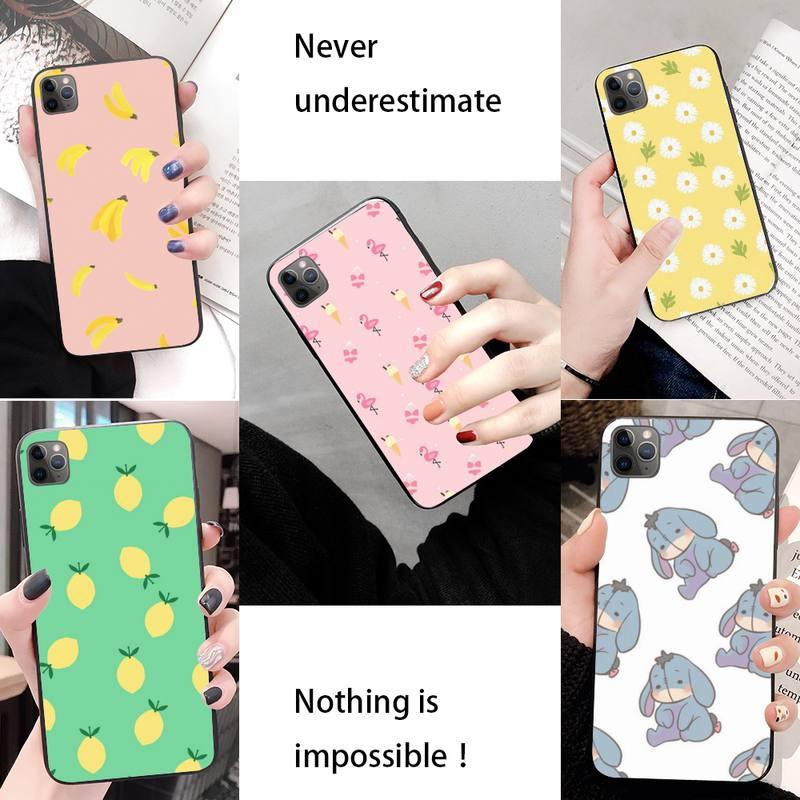 Voga Favorito Alimentos Caixa Do Telefone Para O Iphone 11 Pro Max Xr Xs Max 6S 8 7 PlusTpu Queda Telefone coque