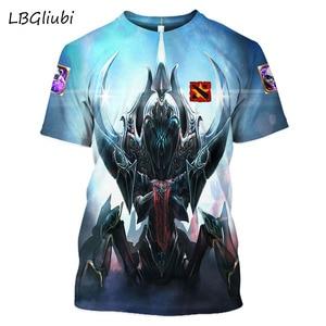 2019 new og dota 2 3D printed t-shirt men and women fashion short sleeves street casual t-shirt DOTA 2 game enthusiast T-shirt