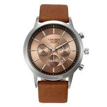 Top Luxury Brand Chronos Men Quartz Watch Business Fashion Casual Sport Wristwatches Male Military Clock Religion Masculino