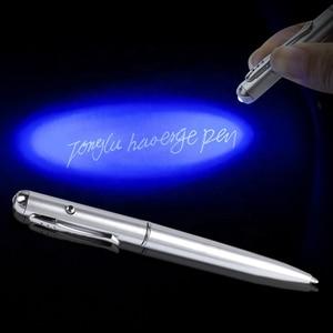 Invisible Ink Pen 3/5pcs Ballpoint Rotate Ballpoint Pens with UV Purple Light Ballpoint Pens 13.8cm Office School Supplies
