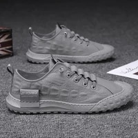 cloth shoes mens 2021 summer new fashionable breathable shoes korean fashion lightweight mens casual lazy canvas shoes men