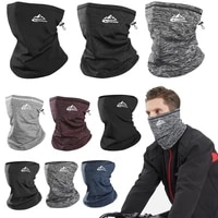 winter neck warmer cycling scarf outdoor running sports headwear face scarf bicycle bandana men simple fashion bike headbands