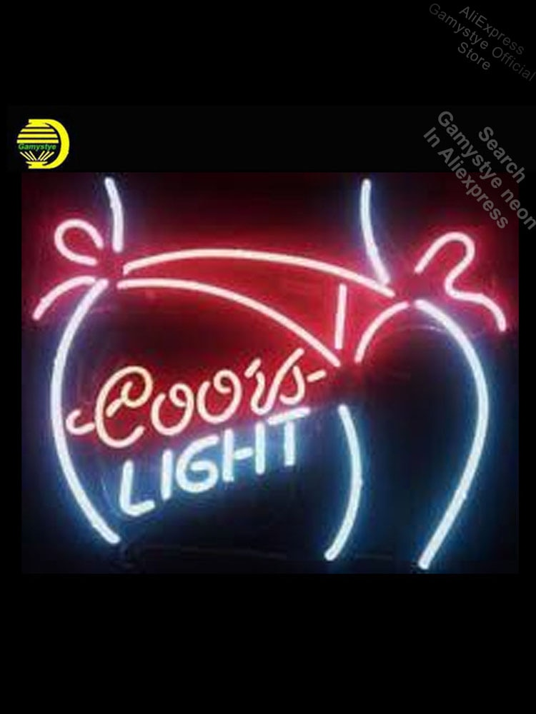 علامة نيون للبنات ، ضوء بيكيني ، أنبوب زجاجي ، عرض متجر ، تصميم حرفي ، علامة تبديل الأموال