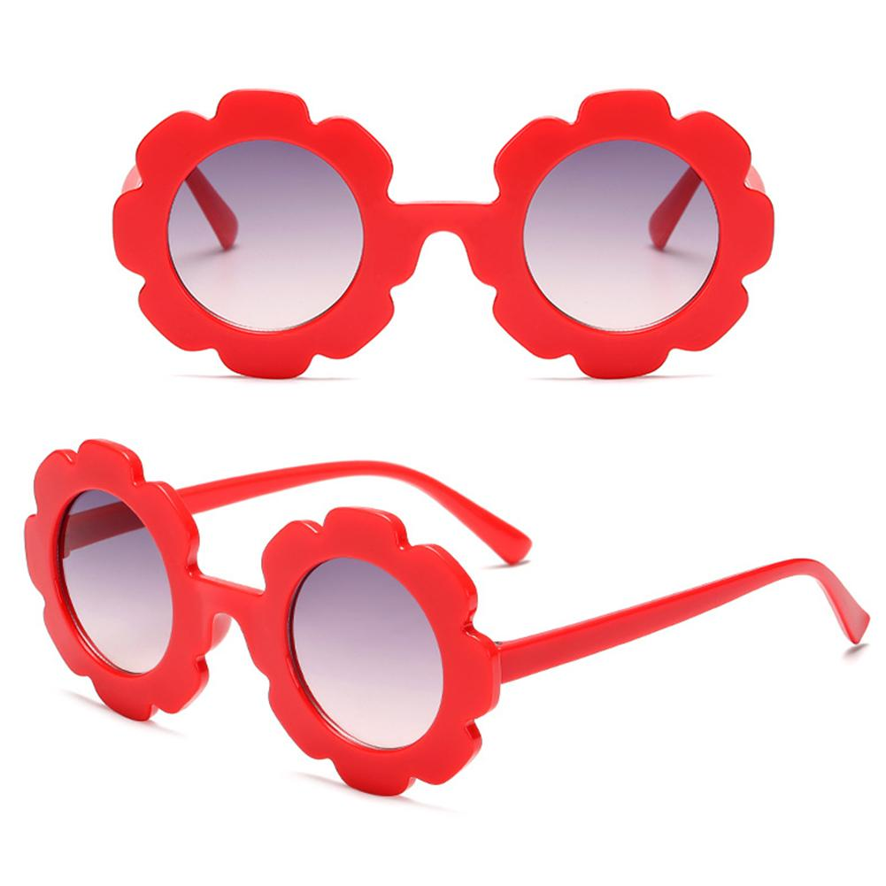 Cute Kids Girls Boys Sunflower Sunglasses Sun Protection Summer Outdoor Goggle glasses Eyewear Acces
