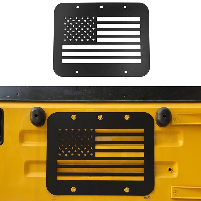 Portador de neumáticos de repuesto eliminar la placa de relleno Tramp Stamp Tailgate Vent-Plate Cover para Jeep Wrangler TJ 1997-2006