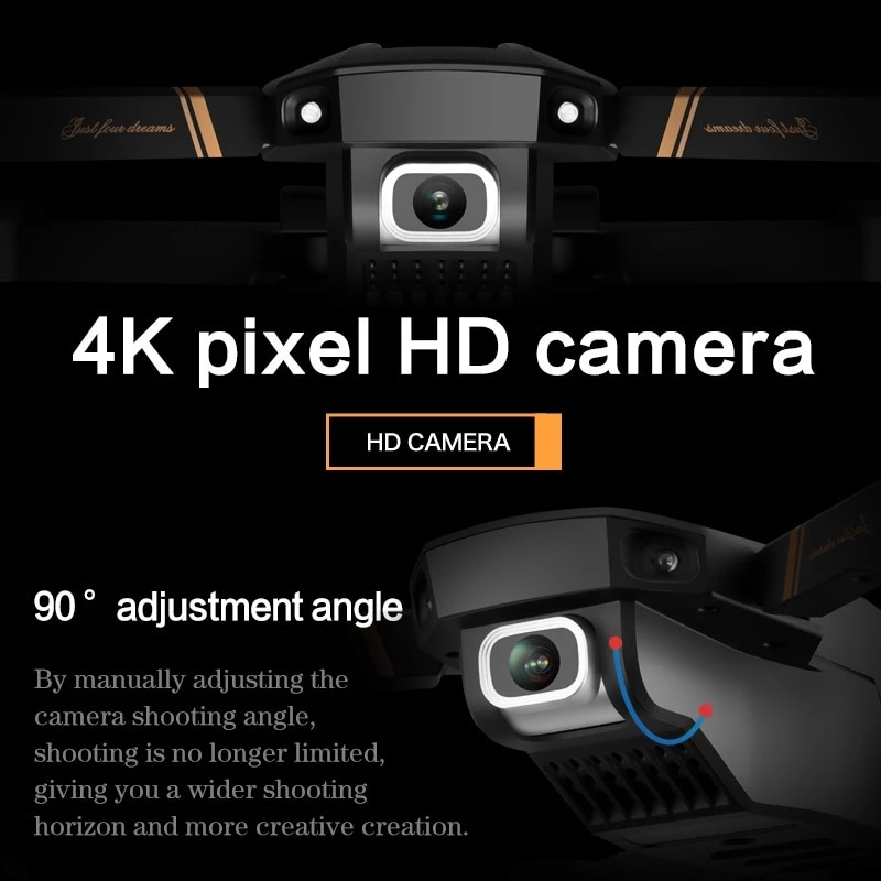 V4 Rc Drone 4k HD GPS Wide Angle Camera 1080P WiFi Fpv Drone Dual Camera Quadcopter Real-Time Transmission Helicopter Toys enlarge