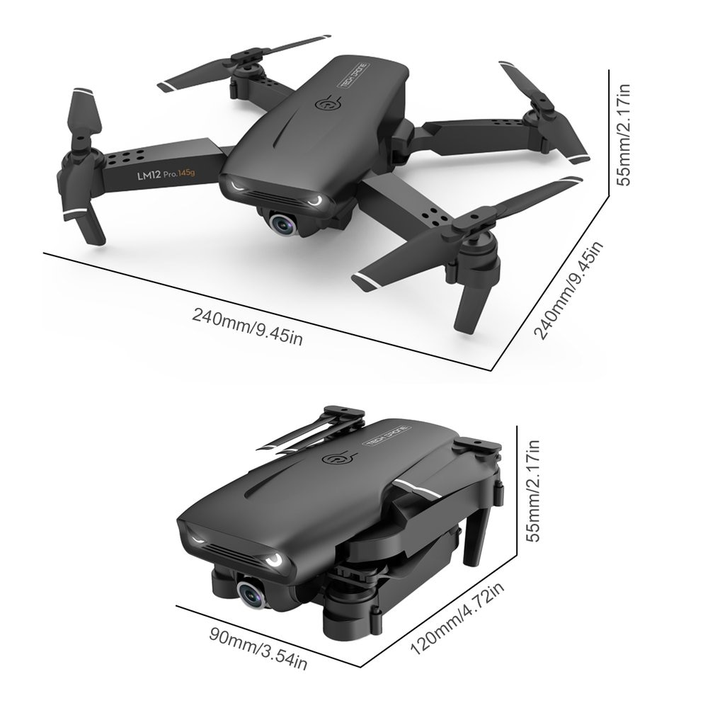 New Y535 Drone 4K HD Dual Camera With GPS 5G WIFI Wide-Angle FPV Real-Time Transmission Foldable RC Quadcopter Toys For Kids enlarge