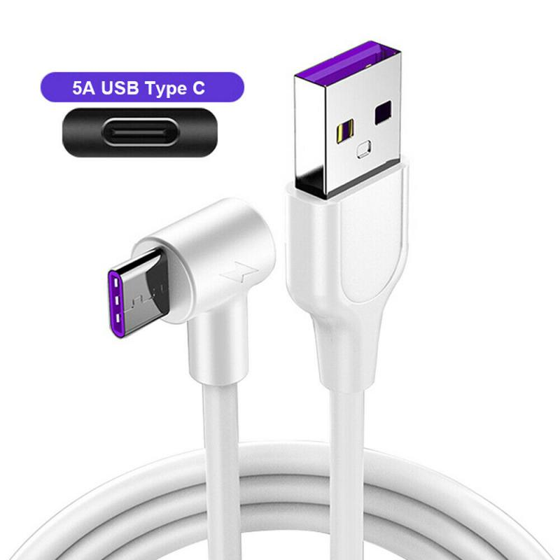 Universal Super Fast Charge Data Type C 5A USB C Cable For Android Smart Phone TypeC Charger Long Ph