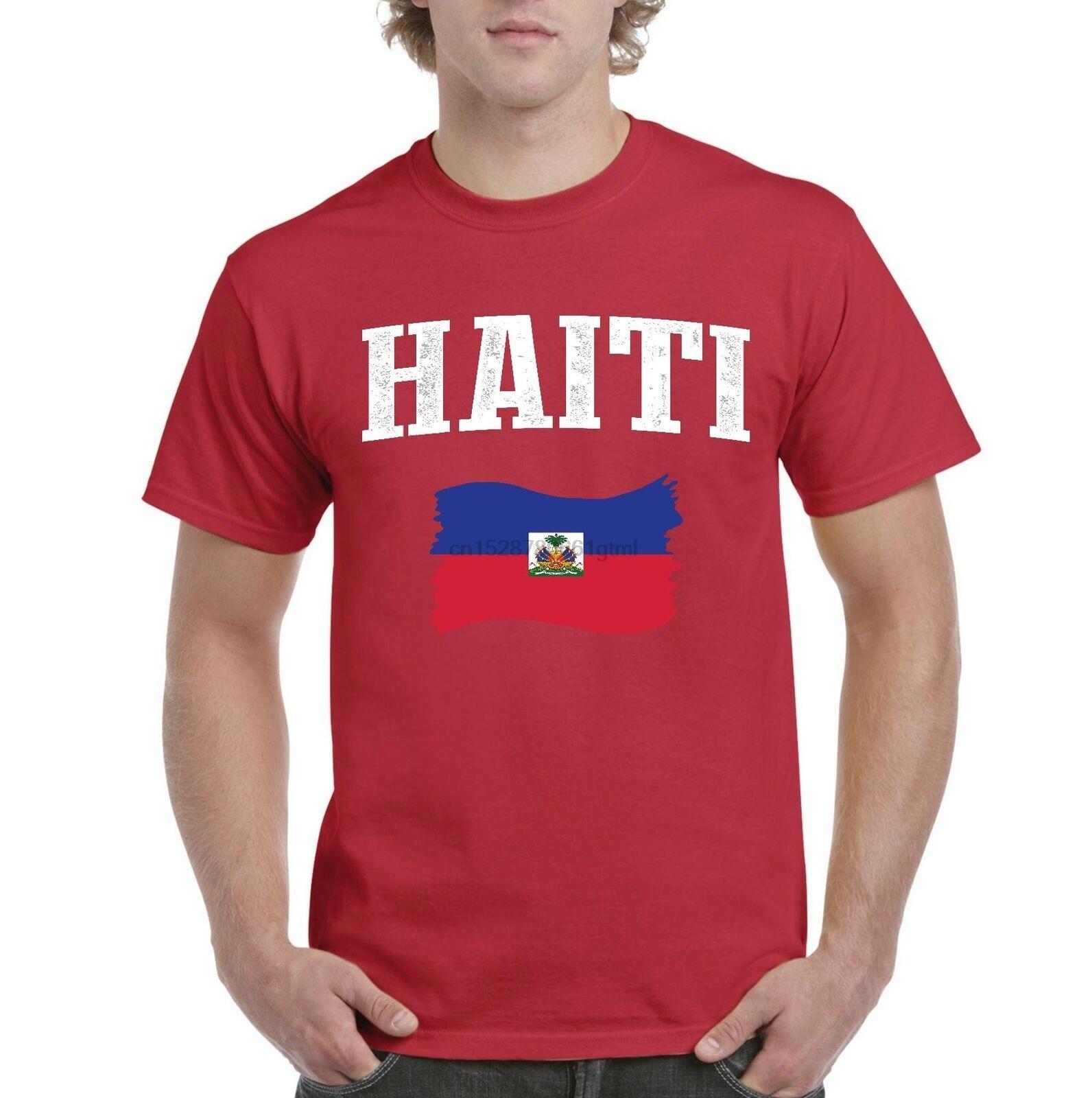Camiseta para hombre de Haití