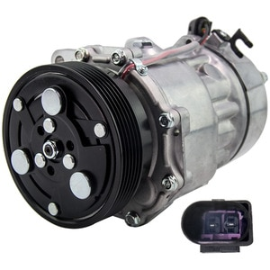 maxpeedingrods A/C Air Con Compressor For FORD Galaxy SEAT VW Transporter T5 1.4-3.2L 1458685 Air Conditioning 1J0820803B