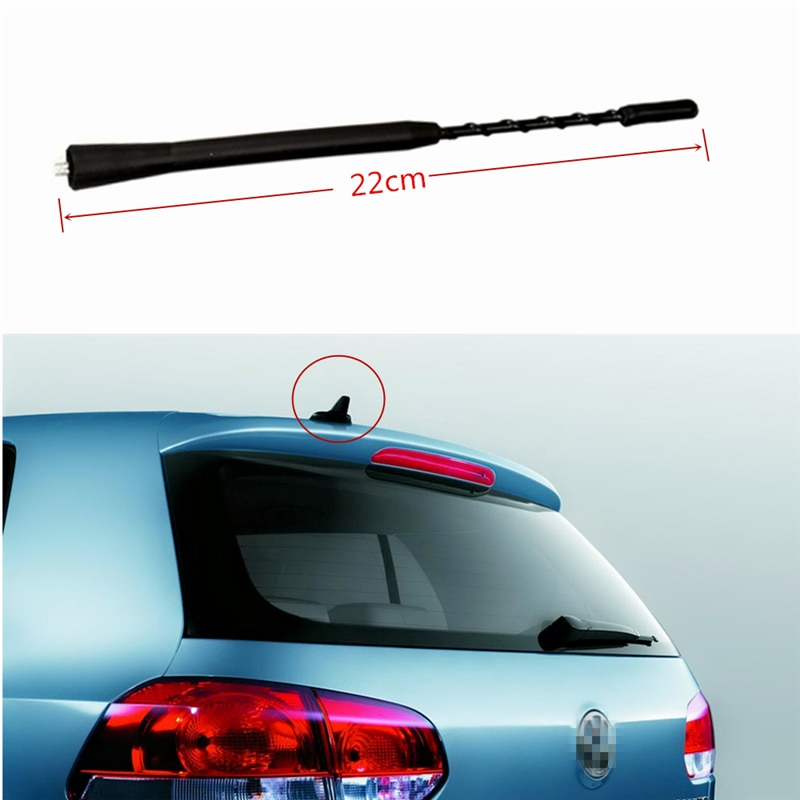 "Accesorios para automóvil coche antena (9 "") para Volkswagen serie Antena de automóvil Toppers aéreos para automóvil Dropshipping gratis"