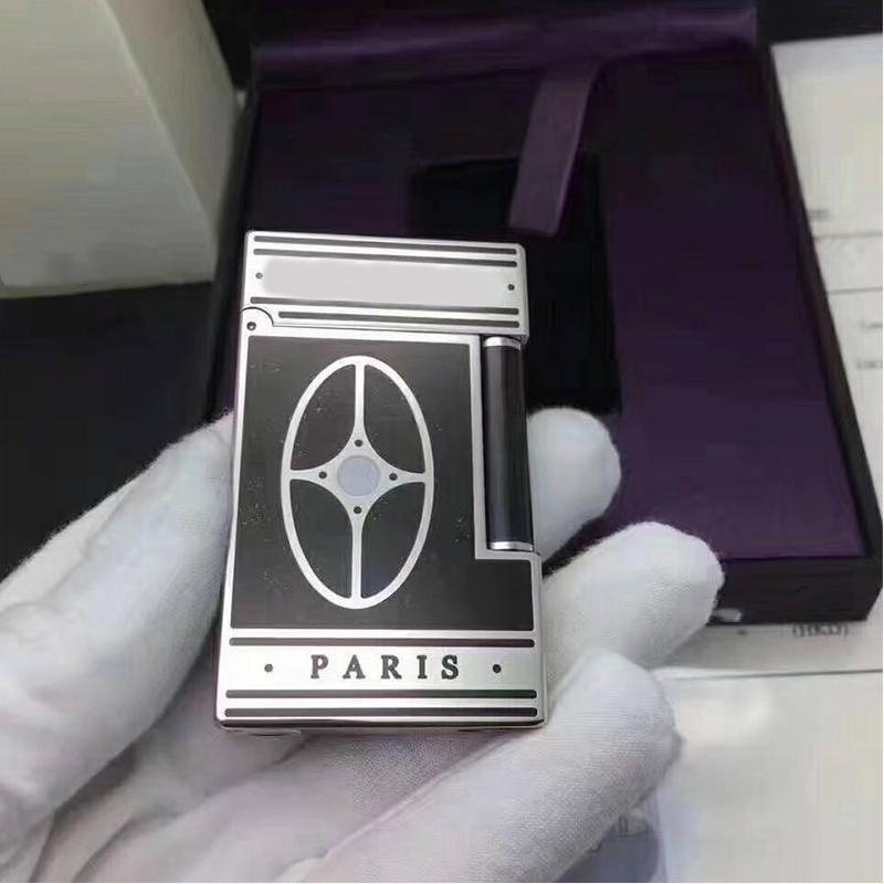 100% brand new retro lighter Seiko manufacture windproof copper body cigarette PING Bright Sound cigarette lighter