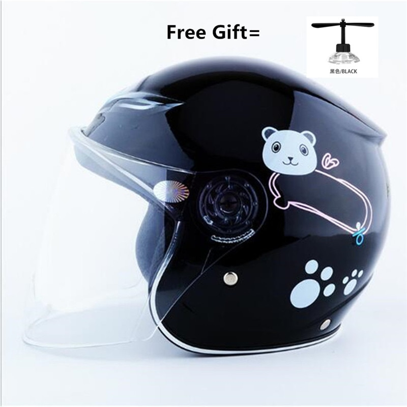 Kids Open Face Helmets Motocross Capacete De  Capacete Cascos Para Casque Moto Motorcycle Accessories Atv Motorcycle Kask