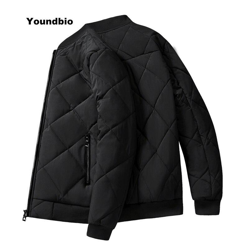 Men Thicken Warm Coat Casual Jacket Men Winter Windproof Outerwear Parka Plus Fleece Outdoor Bomber
