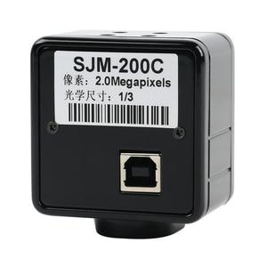 5.0MP 2.0MP USB Cmos Camera Electronic Digital Eyepiece Microscope Free Driver/ Measurement Software High Resolution