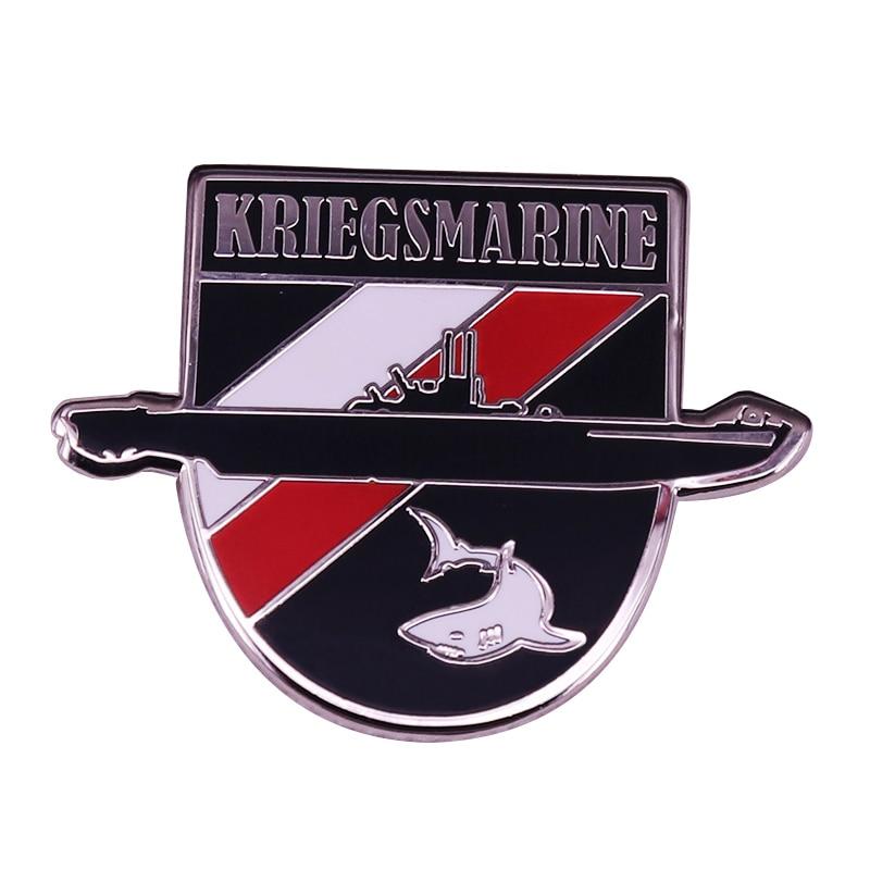 WW2 Armada Alemana submarino insignia militar joyería historia