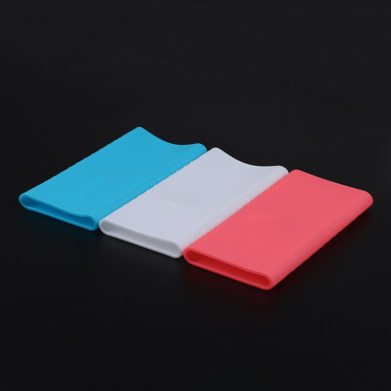 Silicone Power Bank Protector Case Cover For Xiaomi Power Bank 2 Generation 10000 mAh Dual USB Port Skin Shell Sleeve