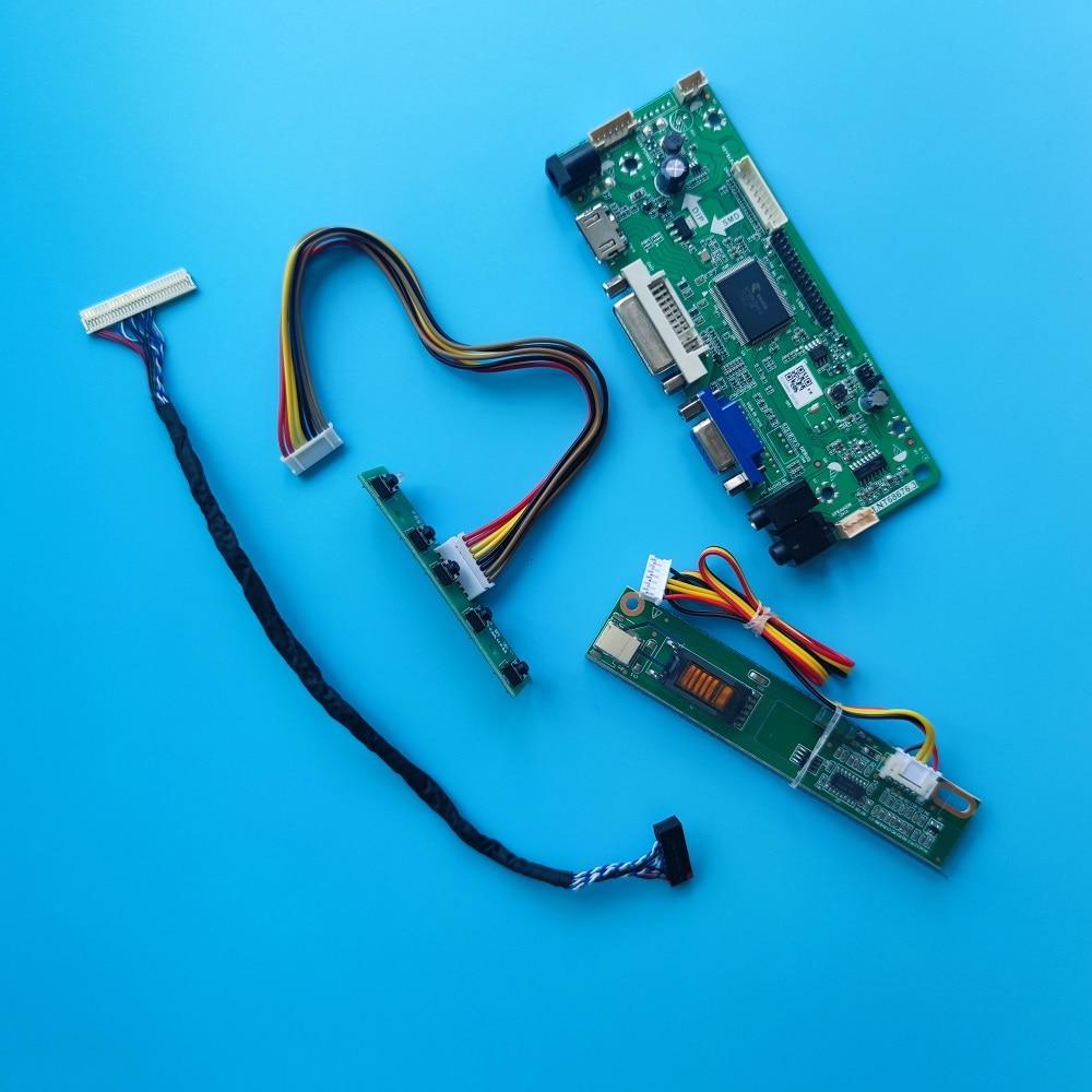 عدة B156XW01 V0/V1/V2 VGA لوحة تحكم إشارة DVI HDMI-متوافق مع الشاشة 1 مصابيح LVDS 1366X768 30pin لوحة عرض 15.6