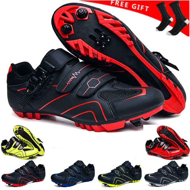 2020 الدراجات أحذية الرجال أحذية رياضية sapatilha ciclismo الجبلية الرياضة المهنية الطريق دراجة الأحذية ذاتية القفل دراجة هوائية جبلية الأحذية